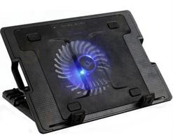 Flying Kademeli Notebook Laptop Soğutucu Mavi Led Işıklı 12 cm