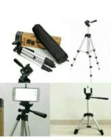 Techmaster 102cm Kamera Tripodu Telefonlara Uyumlu